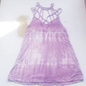 WOMENS TIEDYE TANK TOP